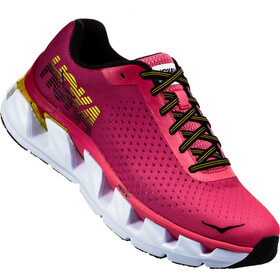 Hoka One One W's Elevon Running Shoes Hot Pink/Cherries Jubilee